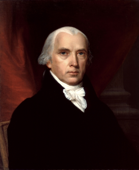 James Madison by John Trumbull